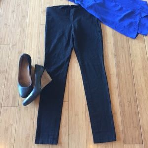 Banana Republic Black Skinny Slacks